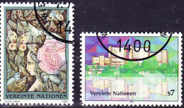 UN Wien Vienna Vienne - Dauerserie/time Series/Les Séries Chronologiques 1992 - Gest. Used Obl. - Usati