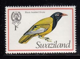 Swaziland MNH Scott #244 1c Black-headed Oriole - Birds - Swaziland (1968-...)