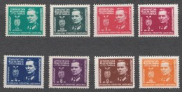 Yugoslavia Republic, President Tito 1945 Mi#461-468 Mint Never Hinged - 1945-1992 Socialistische Federale Republiek Joegoslavië