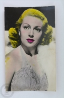 Old Movie Actress Real Photo Postcard/ Real Photograph: Lana Turner - Actores