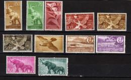 Guinée Espacnole 11 Timbres Neufs ** - Guinée Espagnole