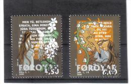 BIN681  FÄRÖER INSELN  2000  Michl  385/86  Used / Gestempelt - Färöer Inseln