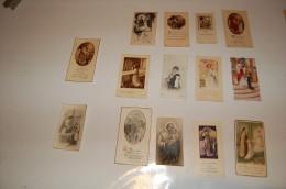 LOT IMAGES PIEUSES COMMUNION - Images Religieuses