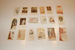 LOT IMAGES PIEUSES COMMUNION - Devotion Images