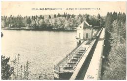 Dépt 58 - MONTSAUCHE-LES-SETTONS - Les Settons - La Digue Du Lac (longueur 275 M) - Montsauche Les Settons