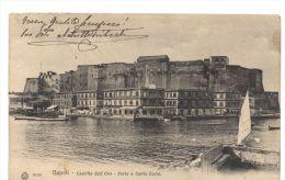 L7314  NAPOLI - SANTA LUCIA E CASTEL DELL'OVO - Napoli (Napels)