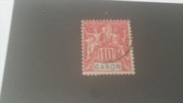 LOT 244547 TIMBRE DE COLONIE GABON OBLITERE N�20