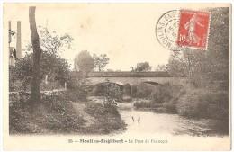 Dépt 58 - MOULINS-ENGILBERT - Le Pont De Panneçot - Moulin Engilbert