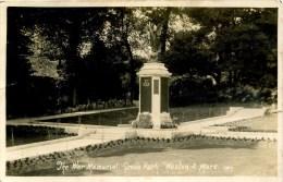AVON - WESTON SUPER MARE - THE WAR MEMORIAL, GROVE PARK RP Av215 - Weston-Super-Mare