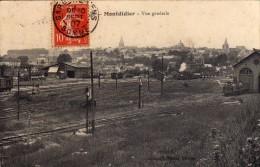 MONTDIDIER  -  Vue Générale  (Train à Vapeur) - Montdidier