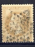 N °28A OBLITERE 1867   Avec Ou Sans Charnière  SCAN RECTO-VERSO CONTRACTUEL - 1863-1870 Napoléon III Lauré