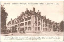 Dépt 58 - NEVERS - Hôtel De France & Grand Hôtel Réunis - P. DEMOULE, Propriétaire - (séjour De Napoléon 1er) - Nevers