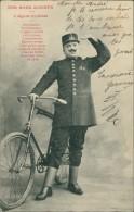 CYCLISME / METIERS / Nos Bons Agents - L'Agent Cycliste (Policier En Costume Avec Bicyclette/vélo!) - Cyclisme