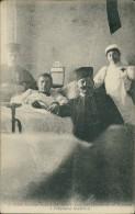 MAROC - Le Spahis Calineau Blessé à Aïn-Sefra Et Deux Sous-Officiers De Son Régiment à L'Hôpital De MARNIA - Autres
