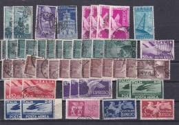 LOT ITALIE  OBLITERES   MERITE INTERET  BONNE COTE - Collections (sans Albums)