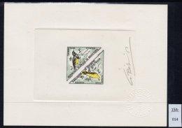 Bird Triangle Epreuve De Luxe Signé Artist Signed Proof Bétemps Dreieck