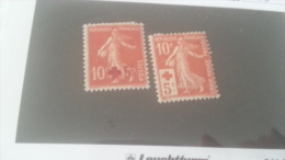 LOT 244589 TIMBRE DE  FRANCE NEUF* N�146/147 VALEUR 46 EUROS