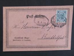 ÖSTERREICH Leoben Firma Mayr 1901 Werbung  /// D*15154 - 1850-1918 Imperium