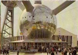 BRUXELLES: Atomium, Sphère De Base Et Hall D'accueil - Wereldtentoonstellingen
