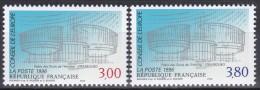 116-117Conseil De L'Europe (paire Indivisible) - Service