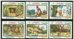 "ANGUILLA - 1982 - Christmas ""Winnie The Pooh 6v. Nuovi** - Anguilla (1968-...)"