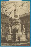 Milano (carte Circulée) - Mon. A Leonardo Da Vinci - Milano