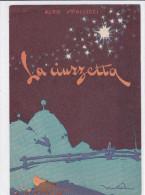 """CARD PUBBLICITA' LIBRO"""" LA CIUZZETTA"""" LE PLEIADIDI"""" ALDO SPALLICCI CON AUTOGRAFO DELLO SCRITTORE  FG-V-2 -0882 22775-776 - Reclame"""