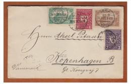 ## ALLEMAGNE ## LETTRE DE GERA POUR COPENHAGUE SEPT.1922 ## PA 1 & 2 AU VERSO ## - Allemagne