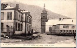 88 CELLES SUR PLAINE - La Place De L'église - - Frankrijk