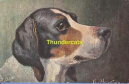 CPA ILLUSTRATEUR  RAPHAEL TUCK DOG HANSTEIN ** ARTIST SIGNED DOG TUCK HANSTEIN - Tuck, Raphael