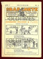 PORTUGAL - O RABANETE - COMPANHEIRO DO TIC-TAC - LIVRO DE ILUSTRAÇAO - 1933 OLD ILUSTRATION MAGAZINE - Books, Magazines, Comics