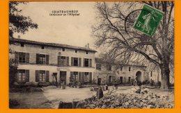 16 .  CHATEAUNEUF . INTERIEUR DE L'HOPITAL .   ( CHAR 132 ) - Chateauneuf Sur Charente