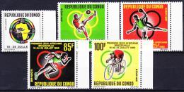 CONGO 1965 YT N° 175 à 179 ** - Congo - Brazzaville