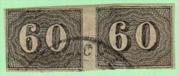 BRZ SC #24 PR W/lt Stns On Back (shown), CV $6.00 - Brazil