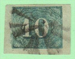 BRZ SC #37  3 Lg Margins, CV $12.00 - Used Stamps