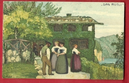 DAO-03 Bundesfeier-Postkarte 1913 Carte Fête Nationale. Das Rütli. Gegen Die Tuberkulose. Non Circulé. Nicht Gelaufen. - Other