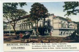 SRI LANKA - COLOMBO - BRISTOL HOTEL - Sri Lanka (Ceylon)