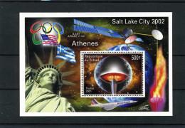 Olympische Spelen 2002 , Republiek Du Tchad  - Blok Postfris - Winter 2002: Salt Lake City