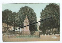 Carte - Pont De Vaux - Promenade Des Champs Elysées- Buste De Chaintreuil - Pont-de-Vaux