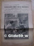 Les Veillées Des Chaumières - Le Château Des Mages, Par Eric De Cys - N° 54 - 6 Mai 1933 - Livres, BD, Revues
