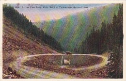 Sylvan Pass Loop Cody Road To Yellowstone National Park Wyoming