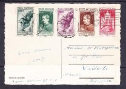 ITCOVERS-01 VATICANE POSTCARD 28.04.1938. - Vatican