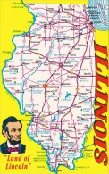 Land Of Lincoln A Map Of Illinois - Sonstige