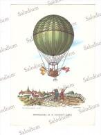 Aerostato Dirigibile Dirigible Ballon Balon Mongolfiera - Illustratore - Lunardi - Dirigibili