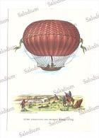 Aerostato Dirigibile Dirigible Ballon Balon Mongolfiera - Illustratore - Robert - Dirigibili
