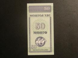 Billet - Mongolie - Valeur Faciale : 50 Möngö - Jamais Circulé - Année ?? - Motif : Athlètes - Mongolia