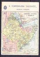 ITCOL-11 POSTCARD FROM ERITREA TO TRENTO  18.07. 1936. - Eritrea