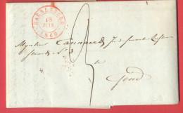 _5i-954: Complete Brief Van HAERLEBEKE 18 JUIN 1840 > GAND 19 JUIN 1940 - 1830-1849 (Belgique Indépendante)