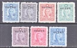 OLD  CHINA  SINKIANG   180-87  Less  184   * - Sinkiang 1915-49