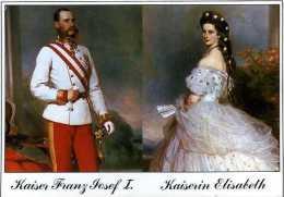 Kaiser Franz Joseph 1 Et Kaiserin Elisaberh (Sissi) - Peintures & Tableaux